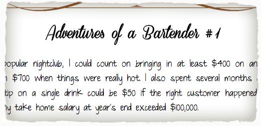 Written By a Bartender