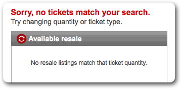 Ticketmaster's Best Kept Secret