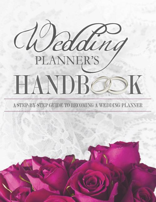 Wedding Planner S Handbook The Wedding Planner Book